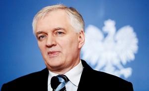 Jarosław Gowin fot.Bartłomiej Zborowski/EPA