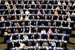 Obrady Parlamentu Europejskiego fot.Patrick Seeger/EPA