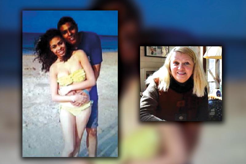 Heather Lois Mack i Tommy Schaefer (na większej fotografii) oraz Sheili Von Weise Mack (z prawej) fot.Facebook/Twitter