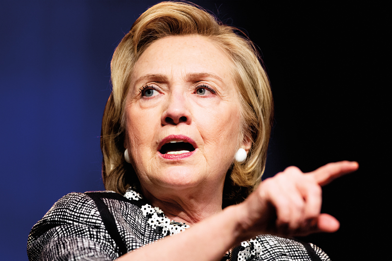 Hillary Clinton fot.Michael Reynolds/EPA