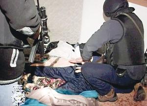 Aresztowanie członków Al-Kaidy w Barcelonie fot.Spanish National police/EPA