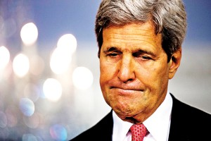 Sekretarz stanu John Kerry fot.Jim Lo Scalzo/EPA