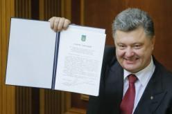 EU and Ukraine ratify key treaty