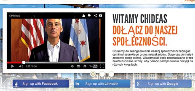 Nowa witryna − nowe forum dla chicagowian