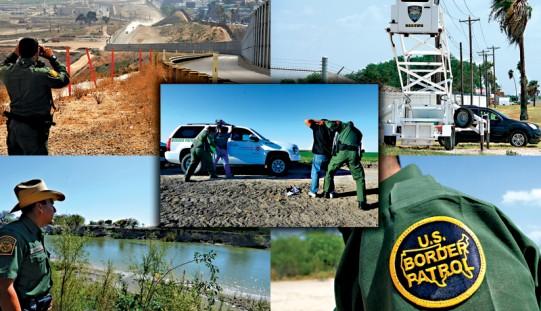 Szeryfowie o kryzysie na południowej granicy: wymyka się spod kontroli (ZOBACZ ZDJĘCIA)