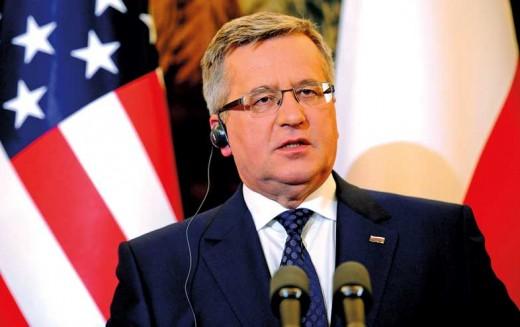 """Komorowski w """"NYT"""" o reformie ONZ i stanowisku RB ws. Ukrainy"""