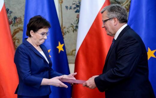 Ewa Kopacz desygnowana na premiera, przystępuje formalnie do tworzenia rządu