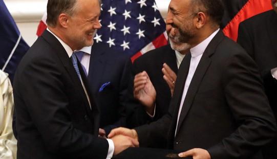 Afganistan podpisał z USA pakt o bezpieczeństwie