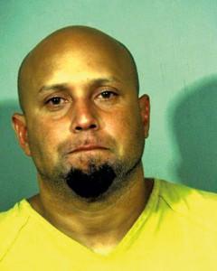 Omar Gonzalez, który wtargnął do Białego Domu fot.New Valley River Regional Jail/Handout/EPA