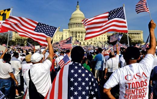 Imigracja. Zmienia Amerykę, ale sama bez zmian?