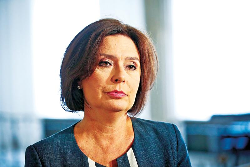 Małgorzata Kidawa-Błońska fot.Rafał Guz/EPA