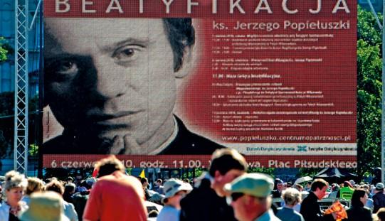 W sobotę wstęp do kanonizacji bł. ks. Jerzego Popiełuszki