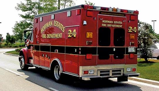 Strażacy z Hoffman Estates uwięzieni z powodu huraganu