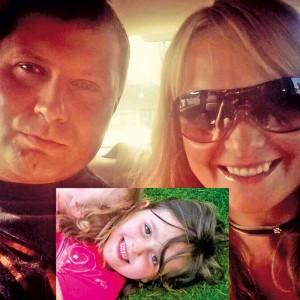 Maciej Kotliński, Anna Kosińska i ich córka Victoria fot.Facebook