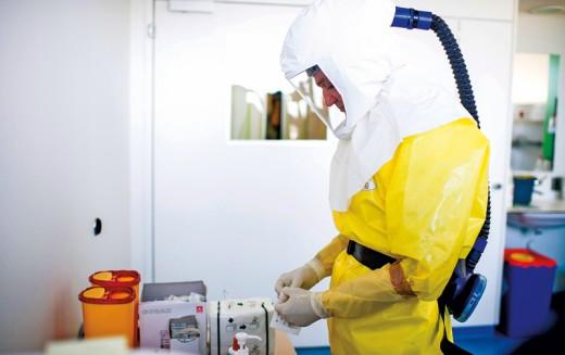 Ebola w Chicago.Jak lokalne władze przygotowują się na wypadek epidemii