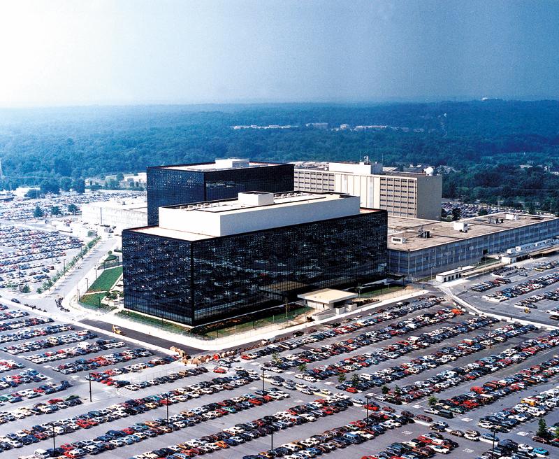Siedziba główna NSA w Fort Meade w stanie Maryland fot.NSA/Handout/EPA