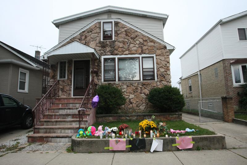 W tym domu przy Odell Ave. doszło do tragedii fot.Artur Partyka