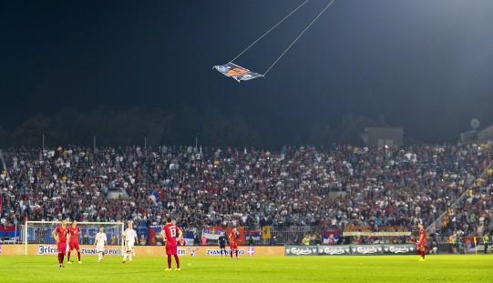 UEFA przyznała walkower Serbii
