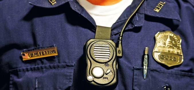 Kamery na mundurach policjantów?