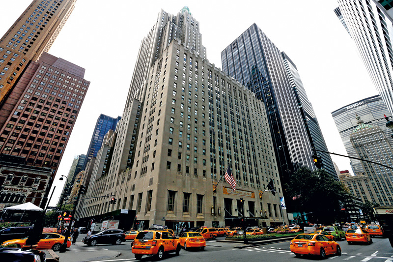 Hotel Waldorf-Astoria fot.Justin Lane/EPA