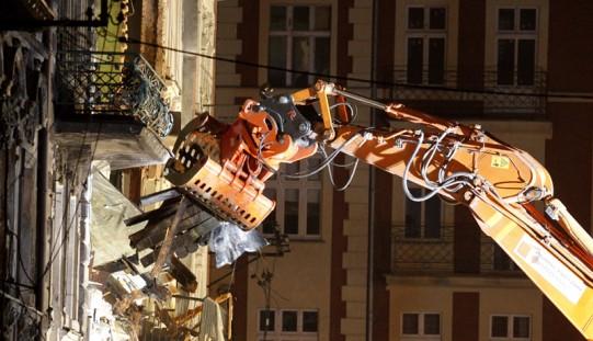 Katowice.Ratownicy dotarli do trzech osób – wszyscy nie żyją