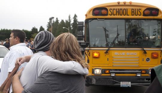 Strzelanina w szkole niedaleko Seattle (ZOBACZ ZDJĘCIA)