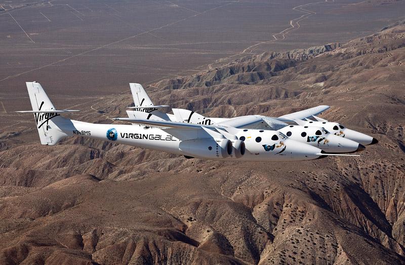 Virgin Galactic's SpaceShipTwo crashes
