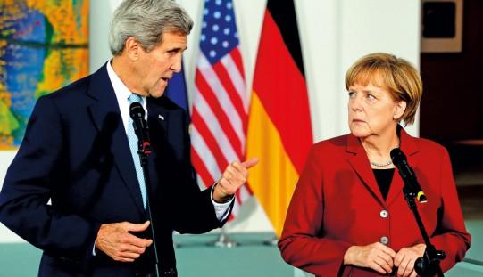 Kerry chwali Niemcy za przywódczą rolę na świecie