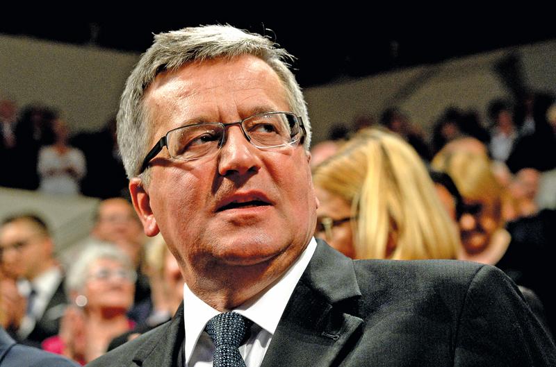 Bronisław Komorowski fot.Peter Endig/EPA