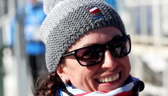 Charytatywna przerwa w treningu Justyny Kowalczyk