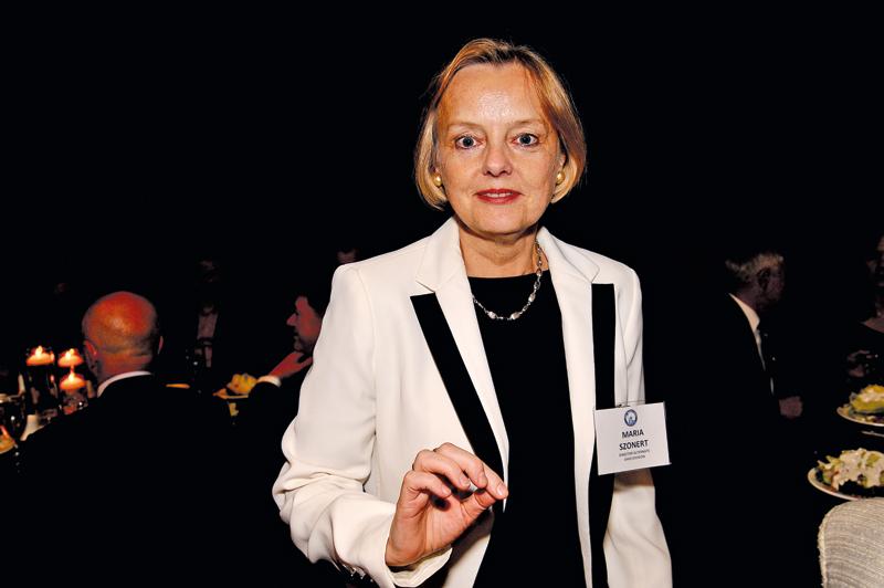 Maria Szonert-Binienda - nowy wiceprezes ds. polskich fot.Andrzej Baraniak