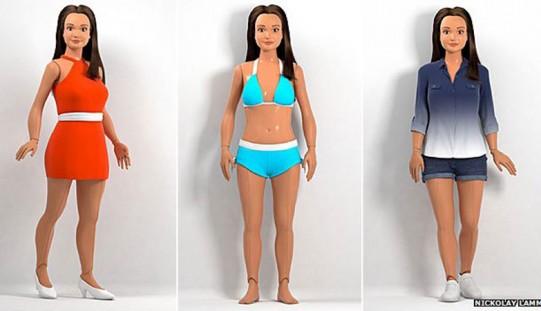 Normalne kształty  Lammily konkurencją dla kultowej Barbie