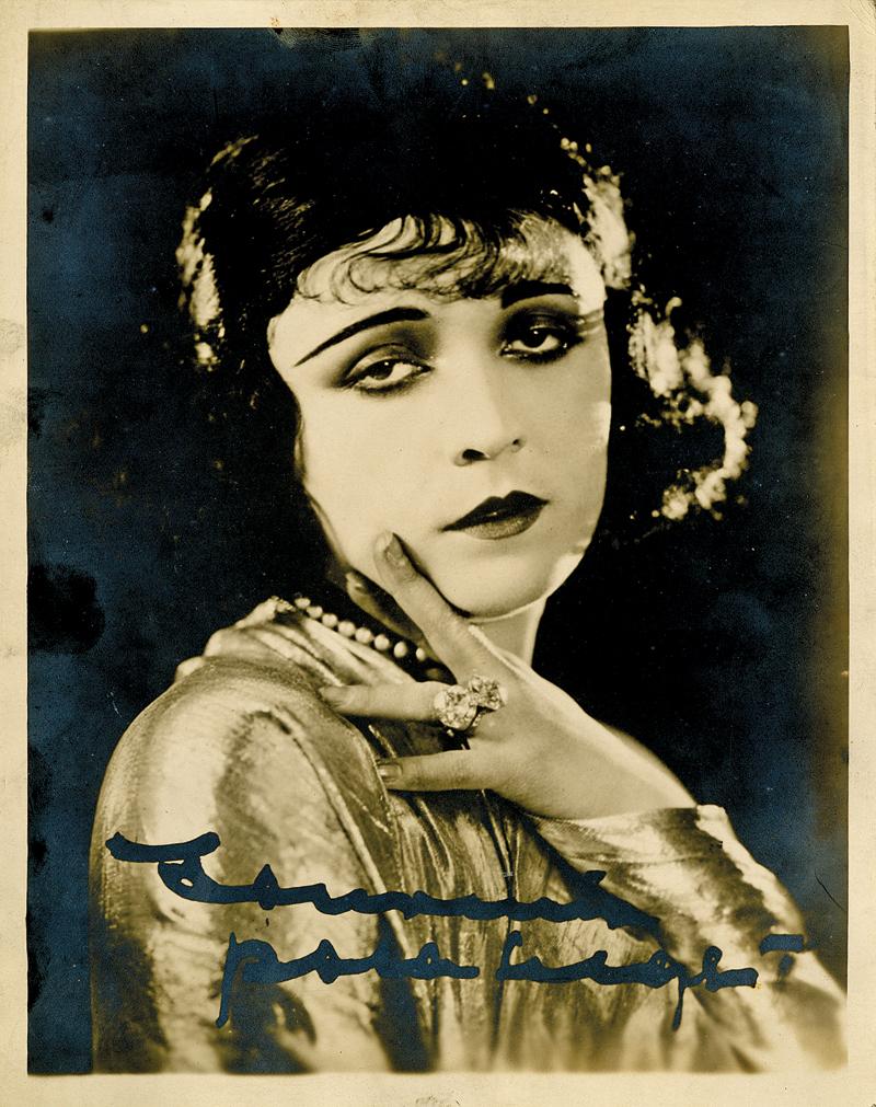 Pola Negri, fotografia ze zbiorów MPA