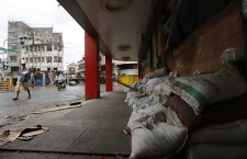 Residents evacuate due to Typhoon Haqupit
