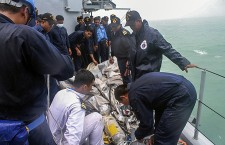 Rescue mission of the crashed Air Asia Airplane