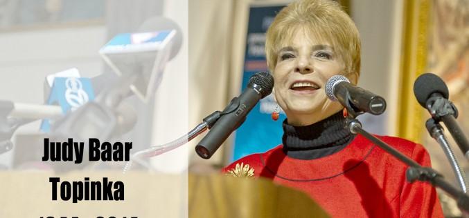 Illinois pożegnało Judy Baar Topinkę