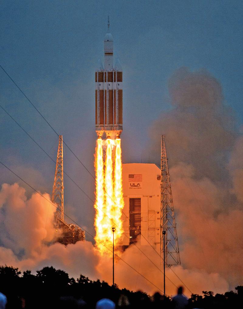 Start rakiety Orion fot.NASA/Bill Ingalls/ Handout/EPA