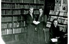 Biblioteka Muzeum Polskiego dawniej, fot. z kolekcji Muzeum Polskiego.