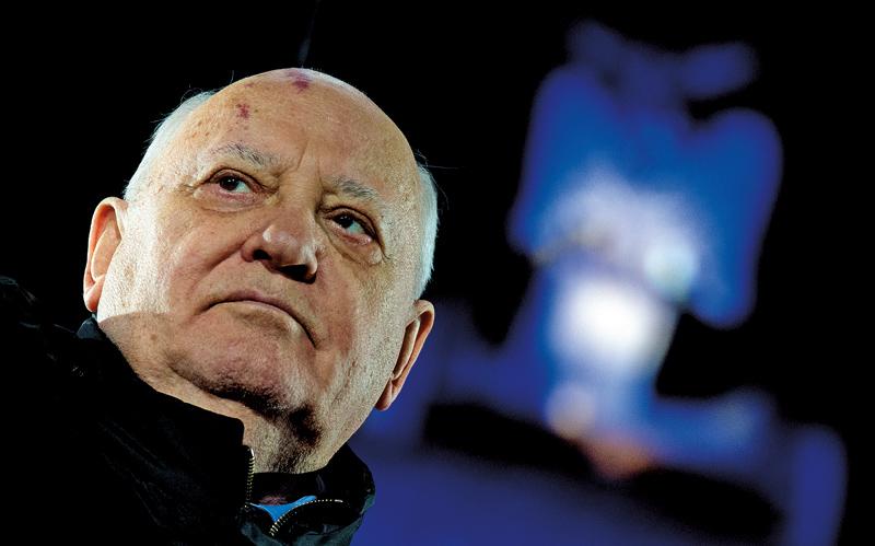 Michaił Gorbaczow fot.Bernd Von Jutrczenka/EPA