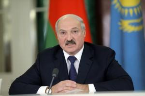 Aleksander Łukaszenko fot.Maxim Shipenkov/EPA