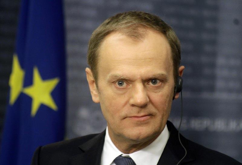 Donald Tusk fot.Valda Kalnina/EPA
