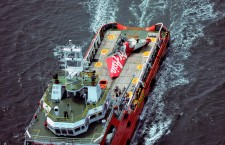 Recovery of crashed AirAsia plane