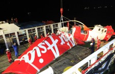 Recovery mission for crashed AirAsia plane in Pangkalan Bun Indonesia