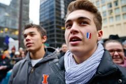 """""""Jestem Charlie Hebdo"""" w Chicago (ZOBACZ ZDJĘCIA)"""