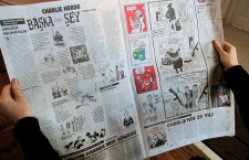 Charlie Hebdo supplement in Turkish newspaper Cumhuriyet