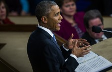 US President Barack Obama delivers his 6th State of the Union address.