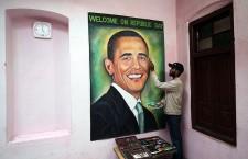Artist creates portrait of Barack Obama ahead of his India visit