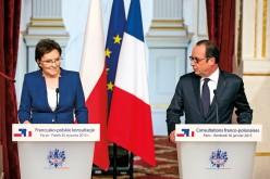 Kopacz i Hollande: nie ma przesłanek do złagodzenia sankcji