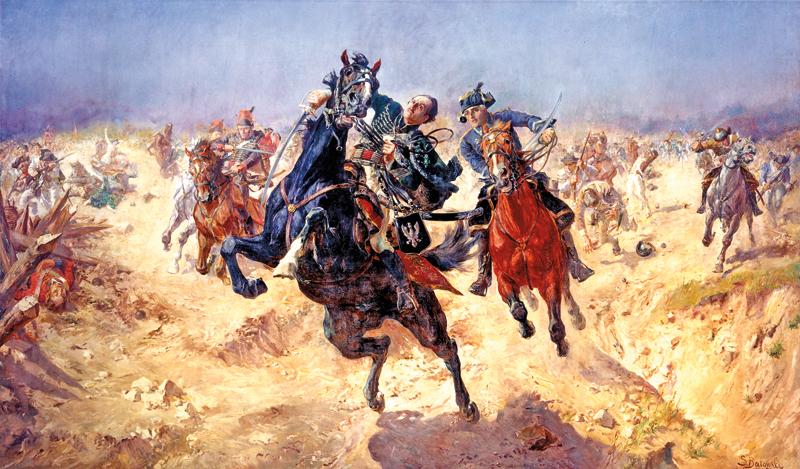 Pulaski pod Savannah Stanisława Batowskiego fot.arch. MPA