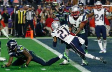 Super Bowl XLIX Seattle Seahawks against the New England Patriots